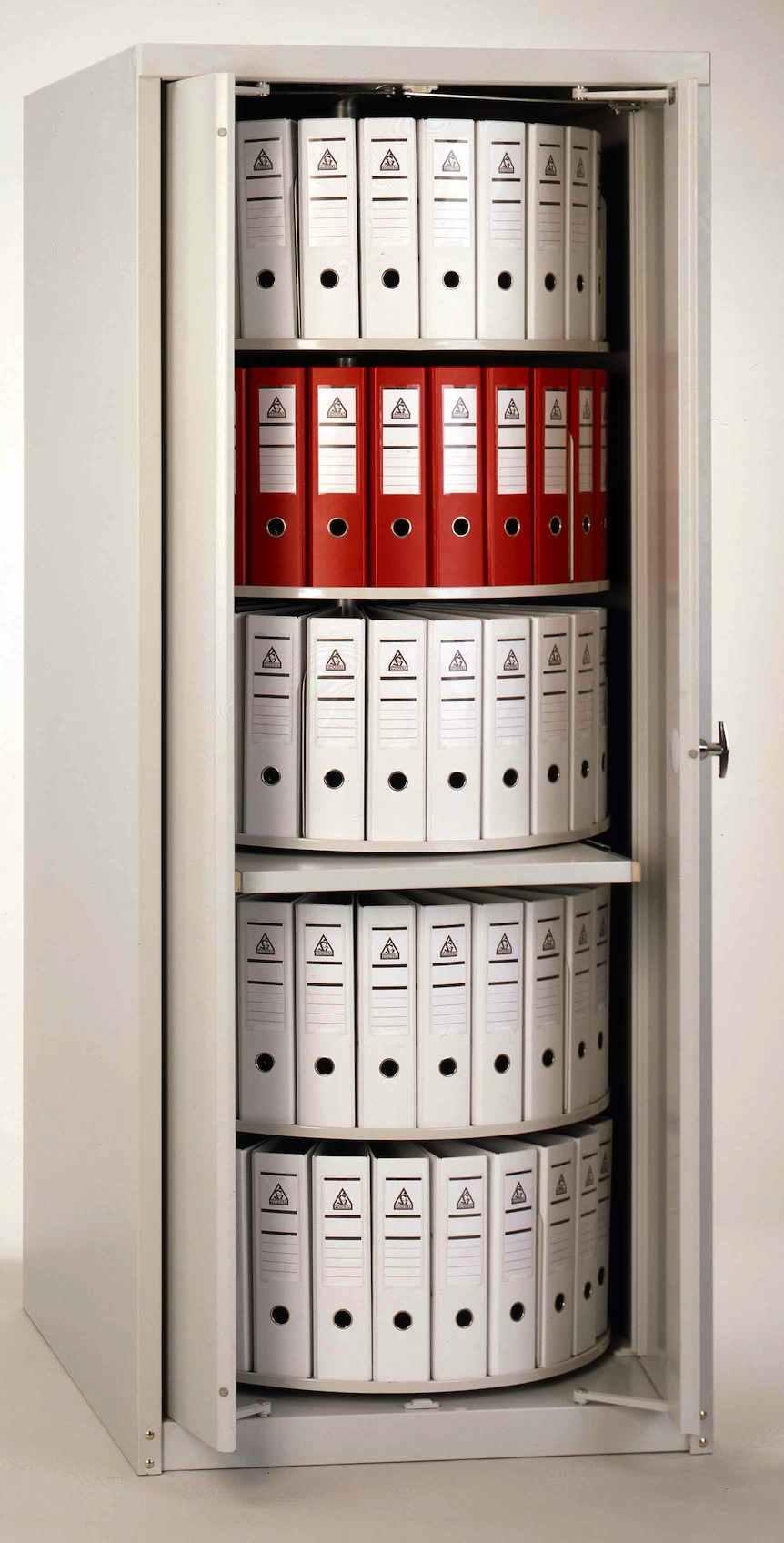 Waeller Filing Systems Steel Carousel Cabinets